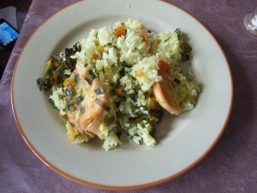 Zapečeni pirinač sa piletinom i brokolijem - Slađana Šćekić - Recepti i Kuvar online