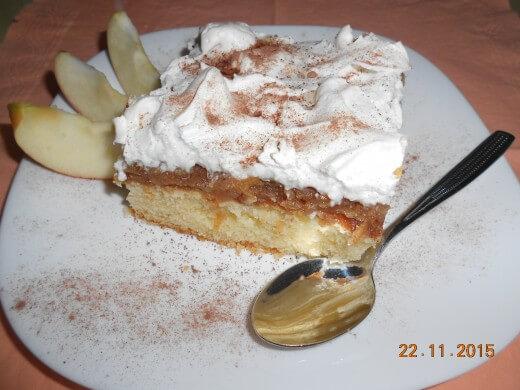 Kolač sa jabukama i šlagom - Slađana Bokić - Recepti i Kuvar online