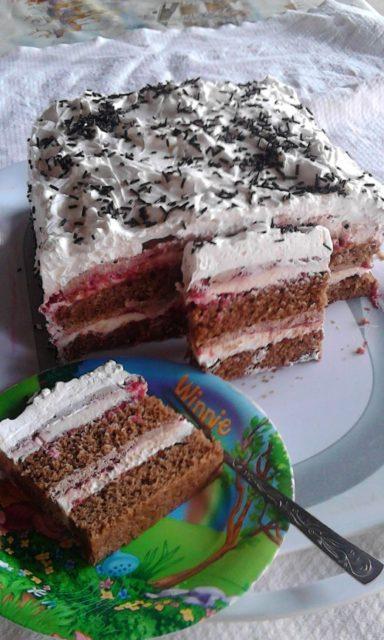 Torta medeno srce sa malinama - Tatjana Stojanović - Recepti i Kuvar online