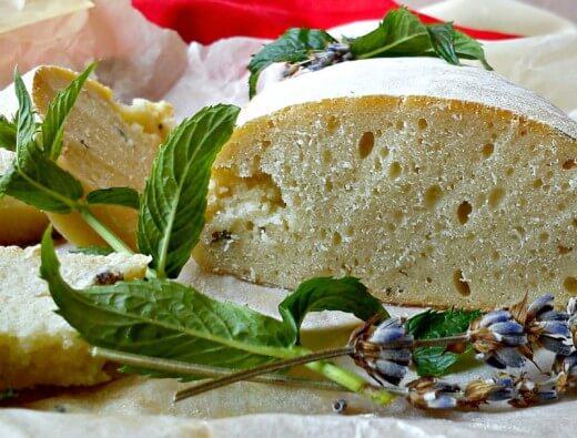 Beskvasni hleb sa nanom i lavandom - Kristina Gašpar - Recepti i Kuvar online