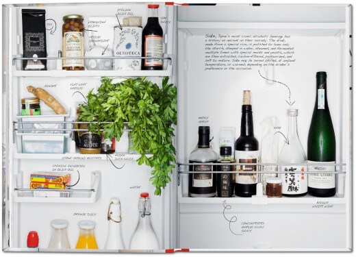 Frižideri poznatih kuvara - naziv originala: Inside Chefs' Fridges - photo TASCHEN © 2015