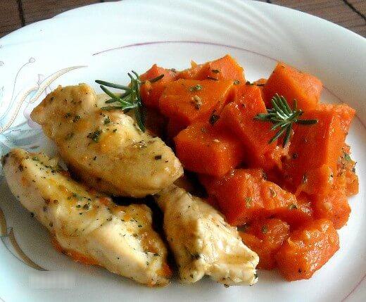 Pečena piletina s bundevom - Dana Drobnjak - Recepti i Kuvar online