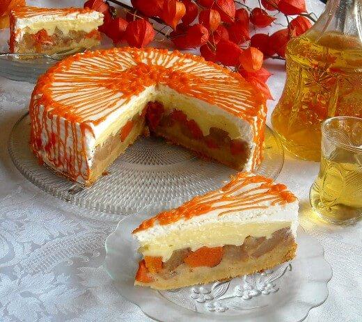 Torta s bundevom i jabukama - Dana Drobnjak