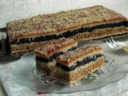 Pita sa makom i orasima - Dana Drobnjak - Recepti i Kuvar online