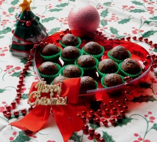 Zdrave novogodišnje kuglice - Ksenija Bako - Recepti i Kuvar online