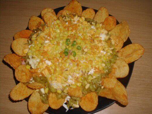 """Salata """"Suncokret"""" - Zorica Stajić - Recepti i Kuvar online"""