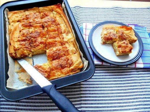 Cepkana pita sa sirom - Javorka Filipović - Recepti i Kuvar online