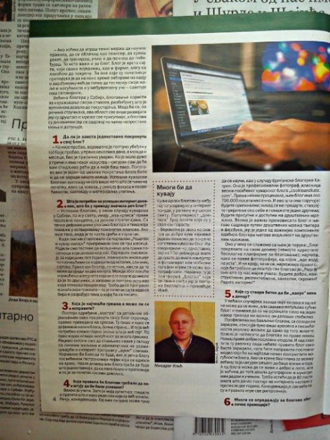 Ima li zarade od bloga? - Politika Magazin - Miodrag Ilić