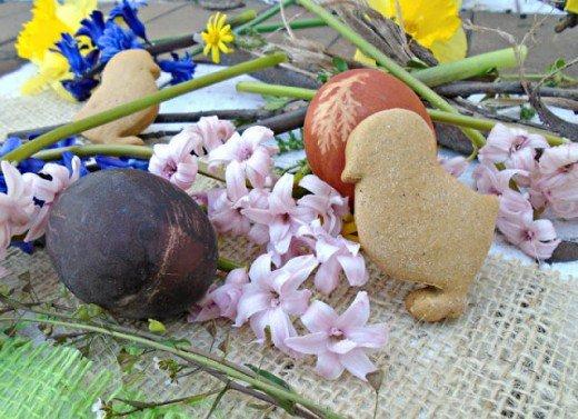 Uskršnja jaja - farbanje/bojenje jaja prirodnim bojama - Kristina Gašpar