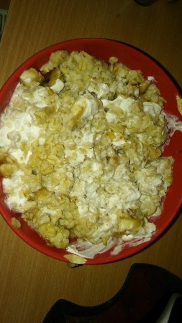 Ovsena kaša sa bananom - Tina Horvat - Recepti i Kuvar online