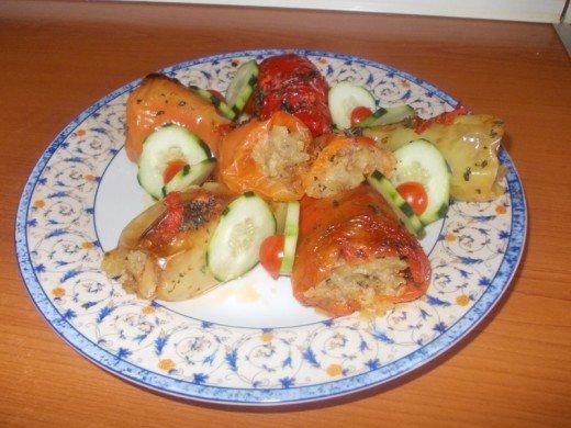 Hrono punjena paprika sa krompirom - Ljiljana Stanković - Recepti i Kuvar online