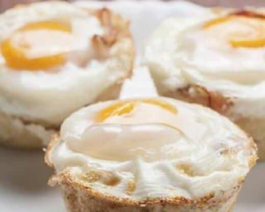 Hrono doručak: mafini sa jajima, slaninom i sirom - photo La-chrononutrition.com