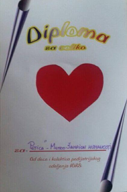 "METRO Šampion humanosti – restoran ""Petica"""