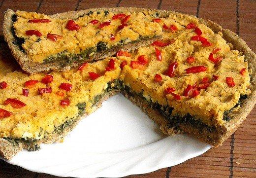 Tart sa blitvom i humusom (namaz od leblebija) - Dana Drobnjak - Recepti i Kuvar online