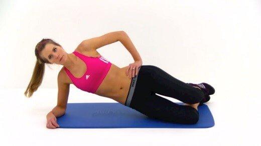 Vežbe za stomak (VIDEO) - Youtube print screen