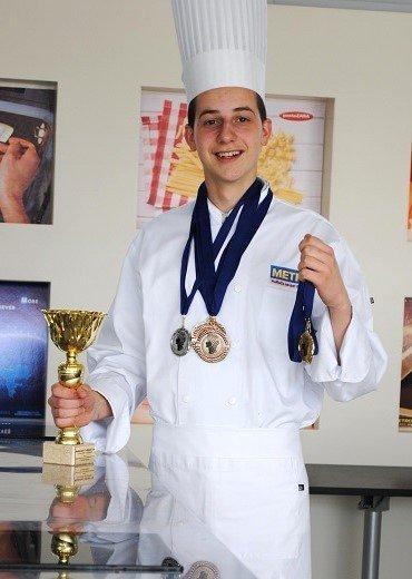 Neverovatan uspeh mladog kulinara iz Srbije