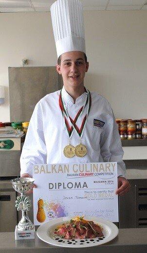 Mladi kulinar iz Srbije, Jovan Tomović nastavlja da niže uspehe - Recepti i Kuvar online