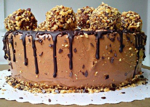 Domaći recept za kupovne slatkiše – čokoladna torta kao Ferrero Rocher - Kristina Gašpar