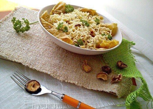 Jela sa pečurkama - nudle sa šitake pečurkama - Kristina Gašpar - Recepti i Kuvar online