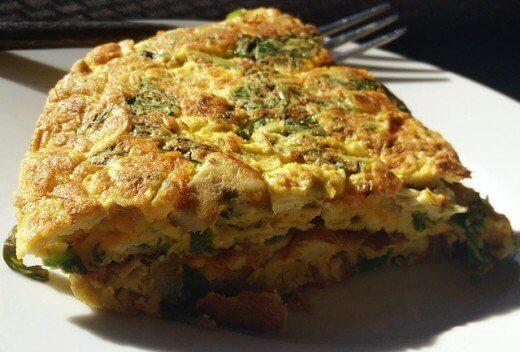 Super doručak: omlet sa pečurkama i mladim lukom - Recepti i Kuvar online - Pixabay