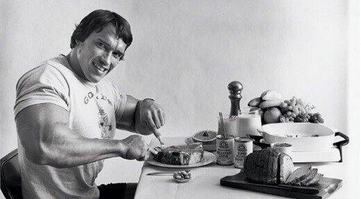 BKTV news - Ako želite da izgledate kao Arnold Švarceneger morate da jedete kao on! (FOTO, VIDEO) - print screen