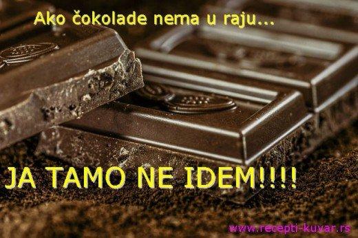 Ako čokolade nema u raju... - Recepti i Kuvar online