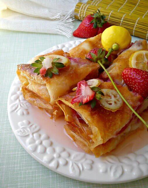 Baklava sa jagodama - Kristina Gašpar - Recepti i Kuvar online