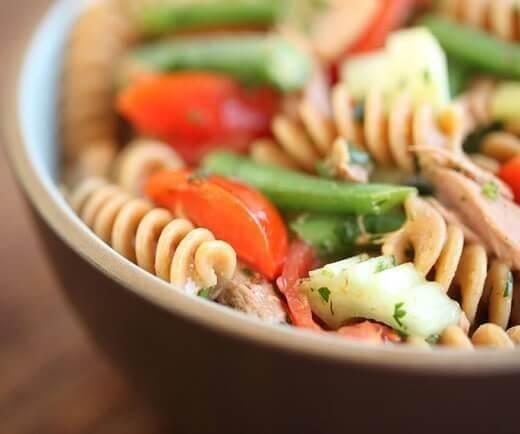 Spartacus - Sjajan proteinski obrok – makarone sa sirom, tunjevinom i povrćem - print screen