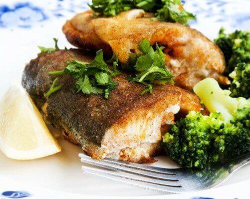 Hrono večera: pastrmka sa brokolijem - Recepti i Kuvar online - ilustracija