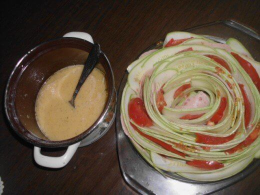 Tikvice u obliku cveta, prelivene i zapečene u rerni - Zorica Stajić - Recepti i Kuvar online