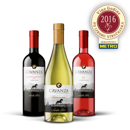 Nagrada za METRO vino - Cavanza na prestižnom internacionalnom takmičenju