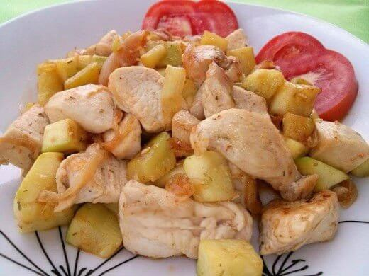 Piletina sa tikvicama - Boba Vlajsavljević - Recepti i Kuvar online