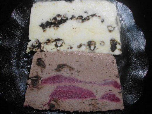 Ledeni dezert sa sladoledom od čokolade i vanile - Zorica Stajić - Recepti i Kuvar online