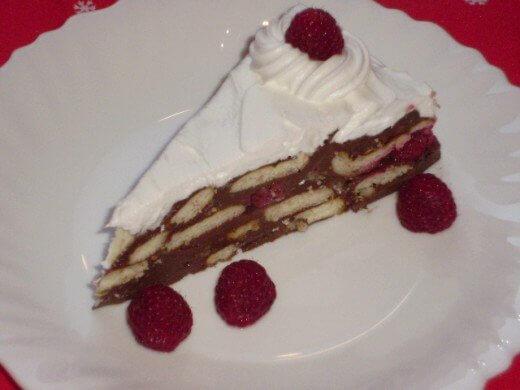 Čoko keks torta sa malinama - Jelena Nikolić - Recepti i Kuvar online