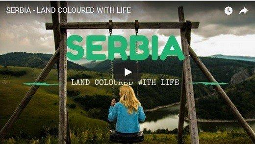 Zemlja obojena životom - zadivljujući video dvoje turista o Srbiji