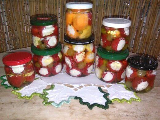 Grožđe i paprika u maslinovom ulju - Dijana Popović - Recepti i Kuvar online
