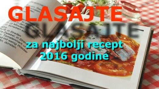 Glasajte za najbolji recept 2016. godine