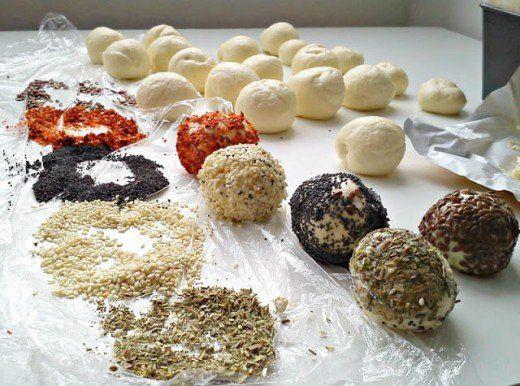 Šarene loptice (hleb i pecivo) - Kristina Gašpar - Recepti i Kuvar online