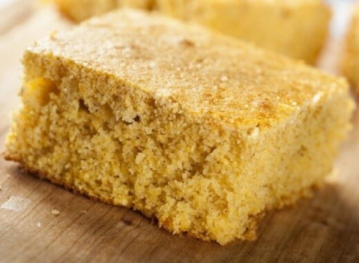 Serbian corn bread with chese