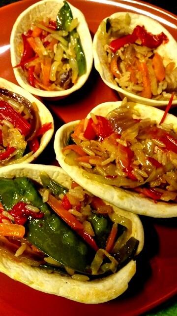 Tortilja korpice sa pirinčem i povrćem - Ana Vuletić - Recepti i Kuvar online