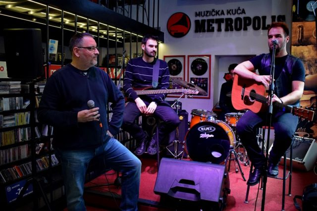 "Promocija debitantskog albuma ""Tragovi"" benda Bluz Mašina - Metropolis Music"