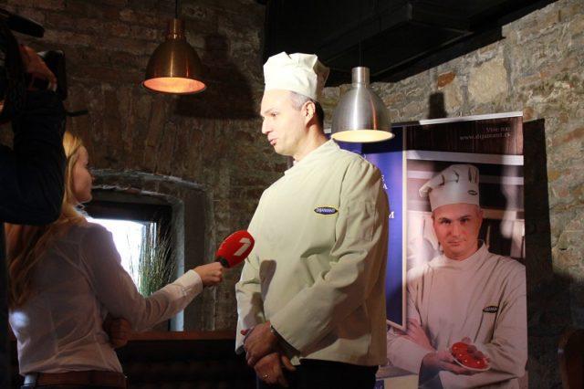Poslastičar Zdravko Gavrilović brend ambasador kompanije Dijamant