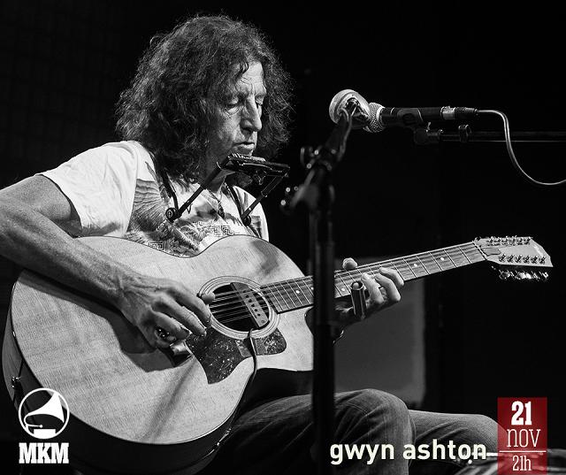 Legendarni Gwyn Ashton nastupa u Muzičkoj kući Metropolis!