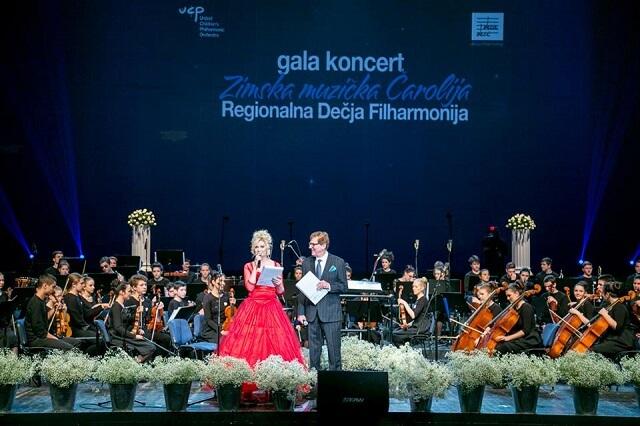 """Održan gala koncert Regionalne dečje filharmonije """"Zimska muzička čarolija"""""""