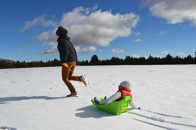Deca treba da provode više vremena na snegu - Pixabay