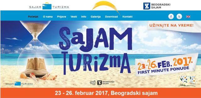 Sajam turizma u Beogradu od 23. do 26. februara pod sloganom