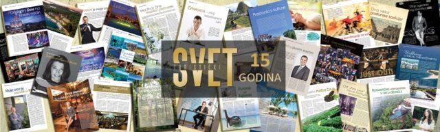 """Časopis """"Turistički Svet"""" na Sajmu turizma obeležava 15 godina postojanja"""
