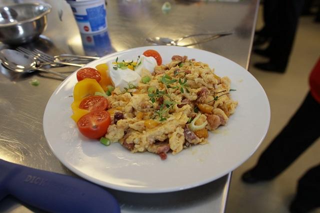 Kajgana sa suvom pečenicom i paprikom izabrana za najukusniji Magični doručak