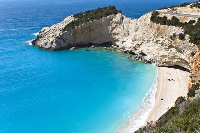 Dobro jutro maži i u Grčkoj si na plaži - DijamantDobro jutro maži i u Grčkoj si na plaži - Dijamant - Porto Katsiki beach at Lefkada Island, Greece