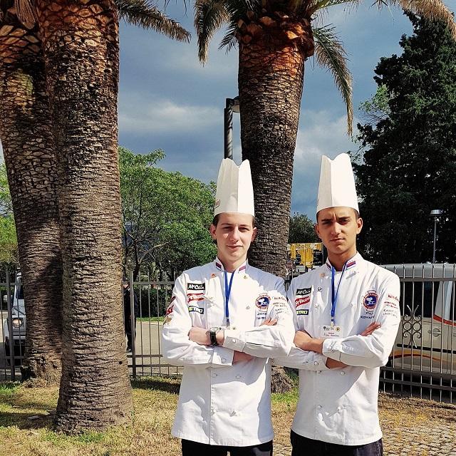 Jovan Kovačević i Filip Tomović - Junior Chefs Club